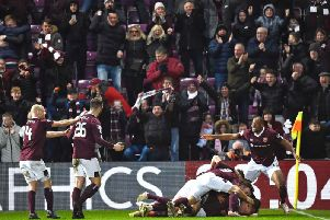 Hearts were less than impressed with BBC's highlights package. Picture: SNS