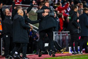 Hearts secured a crucial three points over Rangers. Picture: SNS