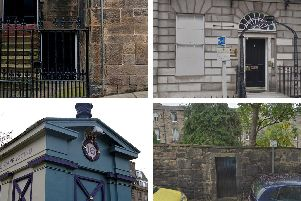 Unusual listed buildings in Edinburgh.