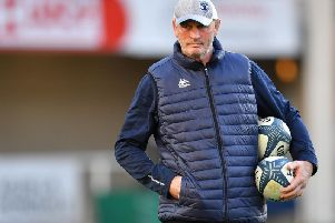 Vern Cotter's contract with Montpellier ends in June. Picture: Getty Images
