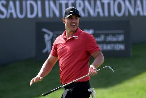 World No 1 Brooks Koepka is playing in this week's Saudi International at Royal Greens Golf Club on the Red Sea coast