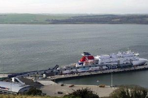 More than 800,000 vehicles and 1.75 million passengers a year travel on the Cairnryan-Northern Ireland routes. Picture: Louise Kerr