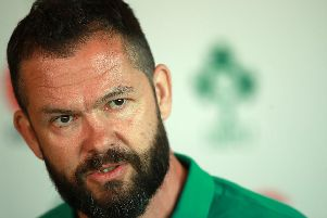 New Ireland coach Andy Farrell. Picture: Getty Images