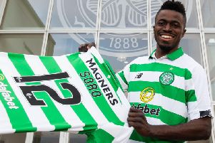 New Celtic signing Ismaila Soro. Picture: Craig Foy/SNS