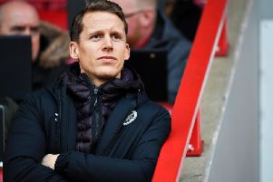 Hearts captain Christophe Berra has 18 months left on his contract. Picture: SNS