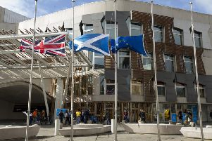 An anti-Brexit rally will take place outside Holyrood on the night the UK leaves the EU