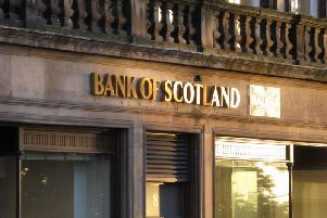 Lloyds Banking Group is close 15 Bank of Scotland branches by October.
