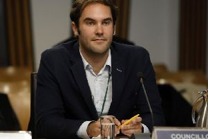 Adam McVey became Scotland's youngest council leader when he secured the post in 2017 at the age of 30.