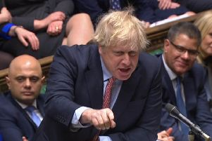 Boris Johnson has refused to give the Scottish Parliament the power to call an independence referendum (Picture:: HOC/UNPIXS EUROPE)