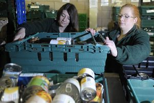 Many families in Wester Hailes, Granton or Leith are forced to visit food banks just to survive (Picture: Neil Hanna)