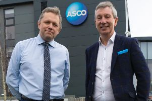 Peter Hollister (left) and Chris Lloyd have joined Asco. Picture: Contributed