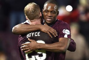 Hearts impressed in beating Rangers at Tynecastle last weekend. Picture: Rob Casey / SNS