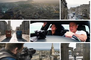 Central Edinburgh stars in the hotly-anticipated sequel to the popular franchise. Pictures: Universal Pictures