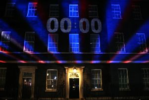 The UK's departure from the European Union became official at 11pm on Friday evening. Picture: Getty Images