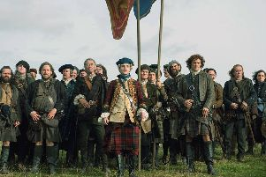Fans of Outlander will be able to inspect Gaelic texts related to the history shown in the show. Picture: Starz