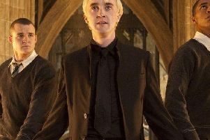Joshua Herdman, as his character in the Harry Potter franchise.
