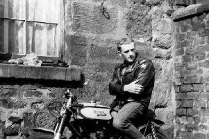 Allan Morrison was one of the founders of the Blue Angels Motorcycle Club.
