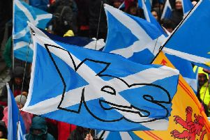 A new poll has found support for and against independence in now evenly split.