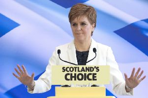 indyref2: Nicola Sturgeon cautioned an advisory vote could backfire (Picture: Jane Barlow/PA Wire)