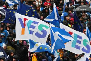 The results come a day afteranother poll by Survationon voting intention found both the yes and no camps on 50 per cent each. Picture: TSPL