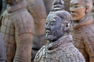 The city shoud tr to mount a new Terracotta Army exhibition