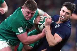 Six Nations rugby is dramatic enough without constant commentary (Picture: Niall Carson/PA)