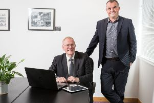 Jock Millican (left) and Fraser Lusty, directors of Equity Gap. Picture: Ditte Solgaard