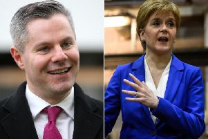 "Scottish Finance Secretary Derek Mackay has resigned after admitting he had ""behaved foolishly"", following reports he sent hundreds of messages to a 16-year-old boy picture: GettyImages"