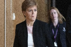 The First Minister said Mr Mackay will be kicked out the SNP Parliamentary group in an emergency statement to MSPs today. Picture: TSPL
