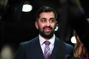 Justice Secretary Humza Yousaf said policy on fingerprinting was 'an operational matter for Police Scotland'. Picture: TSPL