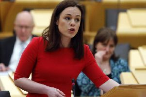 Kate Forbes has become Finance Secretary after standing in at short notice to present the Budget (Picture: Getty)