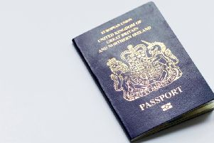 The change in colour aims to symbolise the UK's national identity, having first been used in 1921 (Photo: Shutterstock)