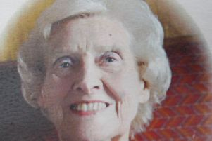 Alice Dunn has died at the age of 87