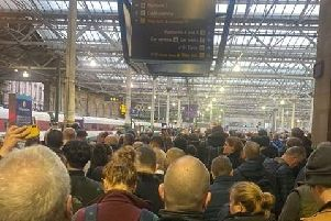 Waverley Station was closed this weekend due to overcrowding - a knock on from travel disruption caused by Storm Ciara.