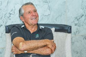 Gary Player offered his opinion on the long-hitting issue as he attended the inaugural Golf  Saudi Summit.