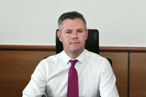 Derek Mackay resigned after it emerged he had repeatedly messaged a 16-year-old boy. Picture: John Devlin
