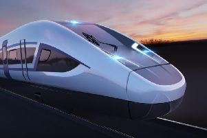 HS2 will run from London to Birmingham, and on to Manchester and Leeds