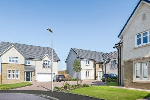 Representative street scene for the Cala part of the wider development at Jackton. Picture: Contributed