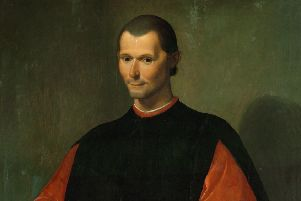 A portrait of Niccolo Machiavelli (1469-1527), Florentine diplomat and political philosopher (Picture:  Imagno/Getty Images)