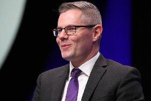 Derek Mackay has joked of his drunkenness at SNP conference.