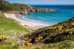Sango Sands Oasis is one of the country's most stunningly situated campsites, offering striking views of the Durness coastline (Shutterstock)