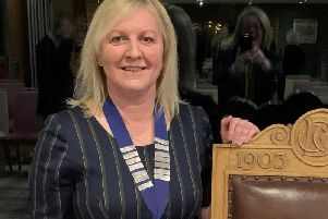 Winning Curtis Cup captain Elaine Farquharson-Black is the first woman to be elected as Deeside Golf Club's captain