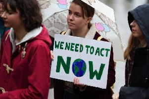 The schools strikes to protest the lack of action to tackle global warming show there is an appetite for change (Picture: John Devlin)