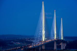 The Queensferry Crossing has not been completely closed since it opened two-and-a-half years ago (Picture: Ian Georgeson)