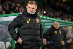 Neil Lennon Steven Gerrard experienced contrasting fortunes midweek. Picture: PA.