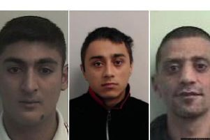 Ailands Aleksanders, Aivars Hauberts and Ludvigs Rudevics were found guilty of raping the schoolgirl   picture: POLICE SCOTLAND