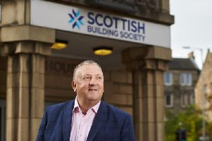 Paul Denton, chief executive of the Scottish Building Society. Picture: Contributed