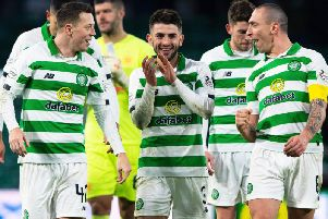 Greg Taylor has been in fine form for Celtic in recent weeks
