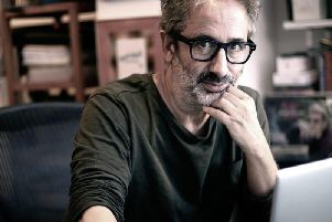 David Baddiel is committed to taking a straight-on look at Holocaust denial. Picture: BBC