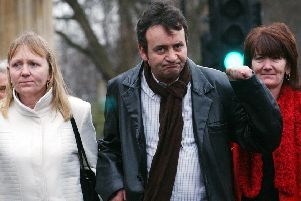 Gerry Conlon spent 15 years in prison on the mainland UK, after he was wrongly convicted for the 1974 Guildford pub bombings, forcing his mother to travel across the Irish Sea to visit either him or his jailed father, who was also wrongly convicted (Picture: Stefan Rousseau/PA)